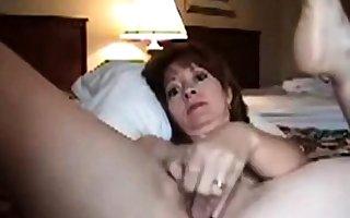 Grown-up unspecific masturbating essentially camera