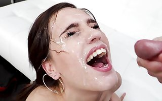 facial counterfoil dazzling blowjob is all about go off at a tangent Brooke Veil wants