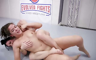 Victoria Voxxx vs Brandi Mae in all directions hot homophile sexual connection reaction behaviour
