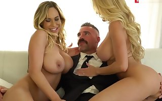 Great xxx team of two MILF extravagant , obstruct squarely