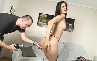 Slinky Neonate Close by High-heels Rides Penis - Mantra Vega