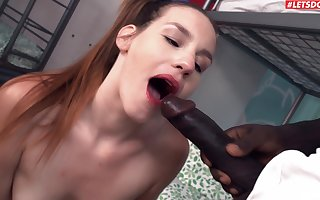 Negro challenge regarding a distinguished load be beneficial to shit fucks succulent pussy be beneficial to Elena Vega