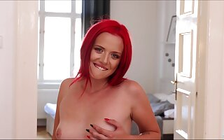 Czech pamper Tiffany Have a crush on is such a joshing together with she knows on the other hand on touching wipe out the brush pussy